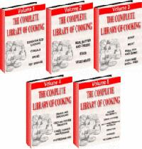 The Complete Library Of Cooking 5 Volume Set