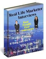 Real Llife Marketer Interviews