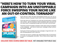 The Traffic Splash System - Streaming Video Access