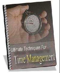 Ultimate Techniques For Time Management