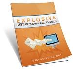 explosivelistbuildingessentials