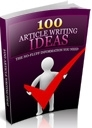 100 Article Writing Ideas